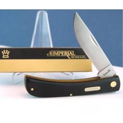 LOT DE 3 Couteaux Schrade Large Sodbuster Knife Imperial Acier Inox Manche Abs IMP22L - Livraison Gratuite