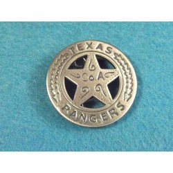 Lot de 3 Reproduction Western Etoile de Sheriff - Texas Rangers Badge MI3011 - Livraison Gratuite