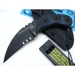 Couteau Tops Devil's Claw Lame Acier Carbon 1095 Manche G-10 Etui Kydex Made USA TPDEVCL01 - Livraison Gratuite