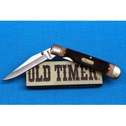Couteau Schrade Old Timer Lame Acier 7Cr17 Manche Delrin Linerlock SCH294OT - Livraison Gratuite