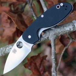 Couteau Spyderco Efficient Lame Acier 8Cr13MoV Manche G-10 SC216GP - Livraison Gratuite