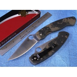 Couteau sc36gpcmo Spyderco Military Digital Camo Handle