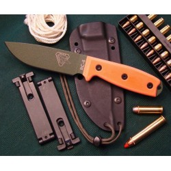 COUTEAU RAT CUTLERY ESEE - RAT Cutlery RC-4 Orange OD Knife COUTEAU DE COMBAT RAT CUTLERY RC4POD - Livraison Gratuite