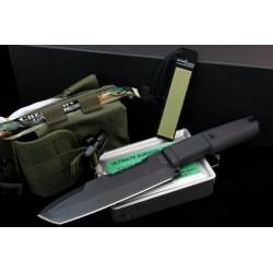 Couteau de Survie Extrema Ratio Ontos Tanto Acier N690 Kit de Survie Made In Italy EX127ONTOS - Livraison Gratuite