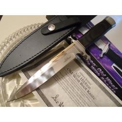 Couteau Gil Hibben Old West Fixed Blade Boot Acier 7Cr13 Manche Bois GH5047 - Livraison Gratuite