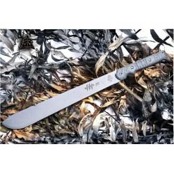 Couteau Machette TOPS Knives Machete .230 Acier Carbone 1095 Manche Micarta Etui Nylon Made In USA TPMAC230 - Livraison Gratuite