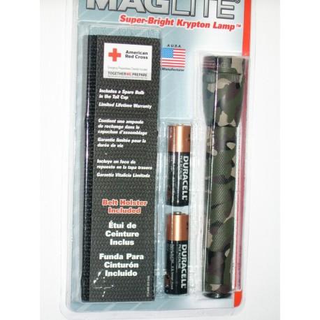 LAMPE MAGLITE - ML06060 - Camouflage + Etui de ceinture