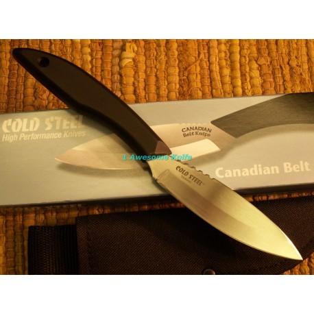 COUTEAU COLD STEEL CS20CBL CANADIAN BELT KNIFE