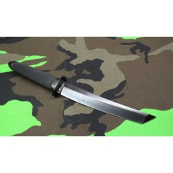 Sabre De Samourai Cold Steel Magnum Tanto Lame Acier CPM 3-V Manche Kraton Etui Secure-Ex CS13QMBII - Livraison Gratuite