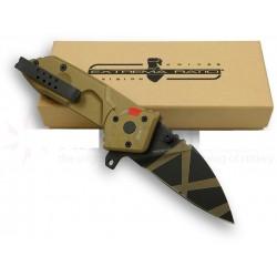 Couteau Extrema Ratio MFO Desert Warfare Lame Acier N690 Manche Tan Made In Italy EX133MFODW - Livraison Gratuite