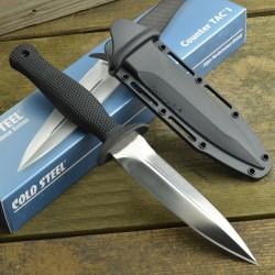 Couteau Cold Steel Counter TAC I Boot Lame Acier AUS 8 Manche Kray-Ex Etui Secure-Ex CS10BCTL - Livraison Gratuite