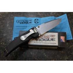 Couteau Hogue EX-03 Tactical Drop Point Lame Acier 154CM Manche Polymère Button lock Made USA HO34350 - Livraison Gratuite
