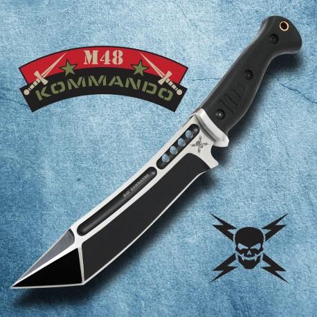 Couteau de Combat United Cutlery M48 Sabotage Tanto Fighter Acier 2Cr13 Manche Abs UC3016 - Livraison Gratuite