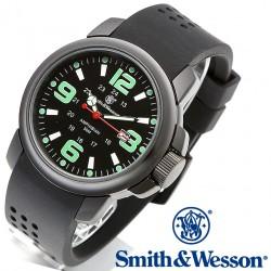 Montre Smith&Wesson Mens Amphibian Commando Etanche 30 mètres Bracelet Silicone SWW1100 - Livraison Gratuite