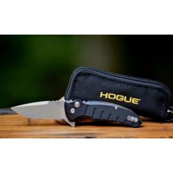 Couteau Hogue X1 Micro Black Lame Acier 154CM Manche Aluminium Button Lock Clip Made USA HO24170 - Livraison Gratuite