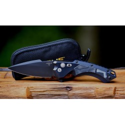 Couteau Hogue X5 Spear Point Lame Acier 154CM Manche Aluminium/G-Mascus Made USA HO34559 - Livraison Gratuite