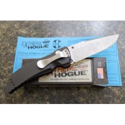 Couteau Hogue Large Tactical Drop Point Lame 154CM Manche Aluminium Plunge Lock Made USA HO34150 - Livraison Gratuite