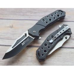 Lot de 3 Couteau Mtech Tactical Urban A/O Lame Acier Inox Manche Aluminium Black MTA951BK - Livraison Gratuite