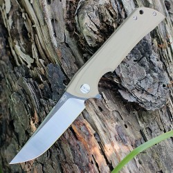 Couteau Bestech Paladin 13B-2 Green Lame Acier D2 Manche G-10 Linerlock Clip BTKG13B2 - Livraison Gratuite