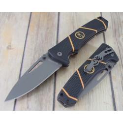 Couteau Browning Long Haul Lame Acier 7Cr17MoV Manche Abs Linerlock Clip BR0352 - Livraison Gratuite
