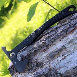 Hache Tomahawk Spyderco Warrior Hawk Lame Acier D2 Manche G-10 Etui Boltaron SCH03 - Livraison Gratuite