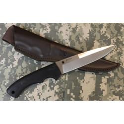 Couteau Spyderco Sustain Lame Acier CPM 20CV Manche G-10 Etui Cuir SCFB39GP - Livraison Gratuite