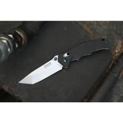 Couteau Elite Tactical Lame Tanto 8Cr13MoV Manche G10 Rapid Lock ELT1024SW - Livraison Gratuite