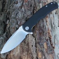 Couteau CIVIVI PRAXIS Lame Acier 9Cr18MoV Manche Black G-10 Linerlock CIVC803C - Livraison Gratuite