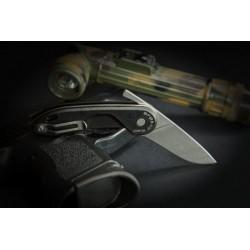 Couteau Extrema Ratio BFO R CD StoneWashed Lame Acier N690 Manche Fibre de Nylon Made In Italy EX0461SW - Livraison Gratuite