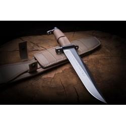 Couteau Extrema Ratio AMF Desert Lame Acier N690 Manche Forprène Etui Tan Cordura Made Italy EX0485SDW - Livraison Gratuite