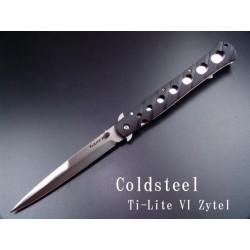 Cold Steel Ti-Lite VI Zytel Lame Acier AUS-8 - Couteau COLD STEEL CS26SXP - LIVRAISON GRATUITE
