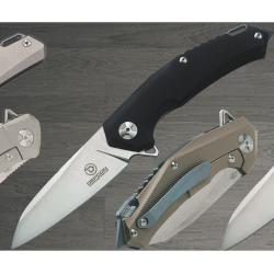 Couteau Defcon JK Hybrid Folder Lame Acier D2 Manche G-10/Titane Framelock TF3220 - Livraison Gratuite