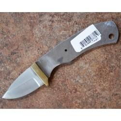 Lot de 2 Lames à Customiser Skinner Lame Acier Inox Garde Laiton BL087 - Livraison Gratuite