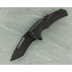 Couteau Brous Blade Reloader Tanto Lame Acier D2 Acid Wash Manche Polymer Linerlock BRBM003A - Livraison Gratuite
