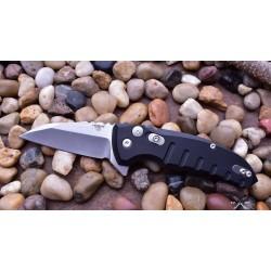 HO24160 Hogue Elishewitz X1 Microflip CPM-154 Blade Black Aluminum Handles Push Button USA - Livraison Gratuite