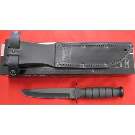 Couteau Tanto SHORT KA BAR-KA1255 TACTICAL HOUSSE CUIR