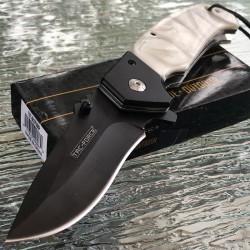 Lot de Couteau 2 Tac-Force Gentleman A/O Lame Acier Inox Manche Résine TF937WP - Livraison Gratuite