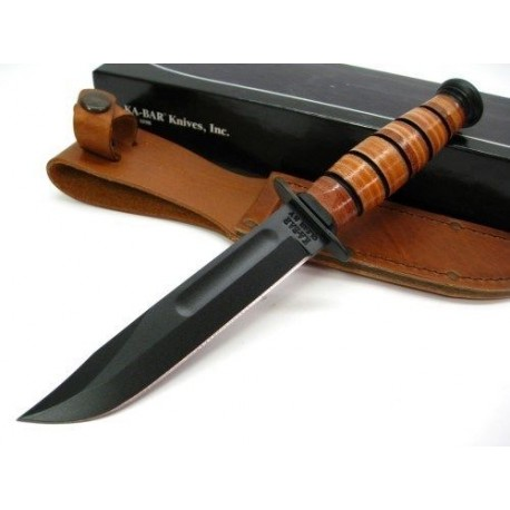 COUTEAU KA1251 Kabar-Short USMC USA PLAIN EDGE KNIFE