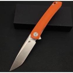 Couteau CH Knives Orange Lame Acier D2 Manche G-10 Linerlock Clip CH3002OR - Livraison Gratuite