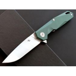 Couteau CH Knives Green Lame Acier D2 Manche G-10 Linerlock Clip CH1047GR - Livraison Gratuite
