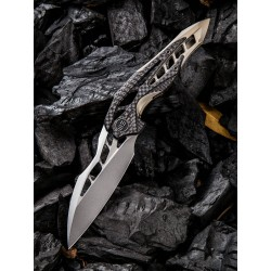 WE906CFA We Knife Co Ltd Arrakis M390 Blade Champagne 6AL4V Titanium/Carbon Fiber Handle - Livraison Gratuite