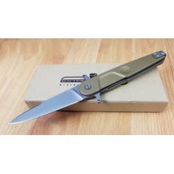 Couteau Extrema Ratio BD2 Lucky Desert Lame Acier N690 Manche Tan Aluminium Italy EX0228DW - Livraison Gratuite