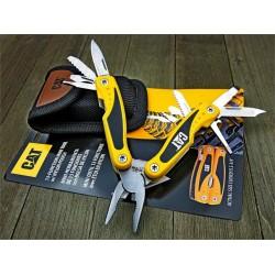 Pince Caterpillar Multi-Function Tool 13-in-1 Manche Aluminium Etui Nylon CAT980048 - Livraison Gratuite