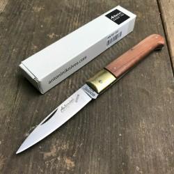 Couteau Antonini Caltagirone Lame Acier 420 Manche Bois Kotibé Made In Italy ANT91720 - Livraison Gratuite