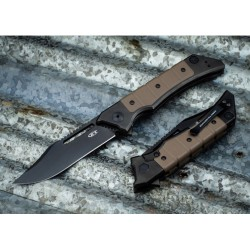 Couteau Zero Tolerance Tim Galyean Lame Acier CPM-20CV Manche Titane/G10 Framelock Made USA ZT0223 - Livraison Gratuite