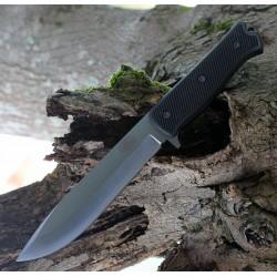 Couteau Tactical Fallkniven A1xb Survival Acier Lam.CoS Manche Thermorun Etui Zytel Made Sweden FNA1XB - Livraison Gratuite