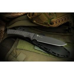 Couteau Spartan Blades Damysus Lame Acier Carbon 1095 Manche Micarta Etui Made USA SBSL003BKBK - Livraison Gratuite