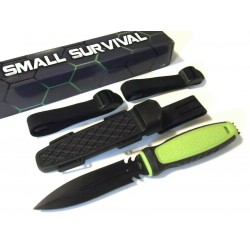 Lot de 3 Couteau de Navy Seal Lame Acier Inox Manche Abs Etui Abs CN211494 - Livraison Gratuite