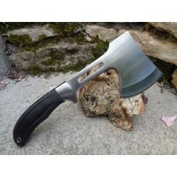 Hache Tomahawk Frost Cutlery Lame Acier 420 Manche Abs Etui Nylon FSW502B - Livraison Gratuite