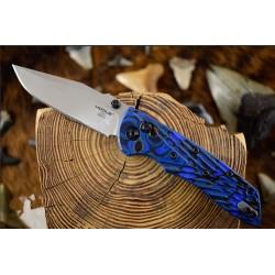 Couteau Hogue Deka ABLE Lock Blue Lame Acier CPM-20CV Manche G10 Clip Made USA HO24273 - Livraison Gratuite
